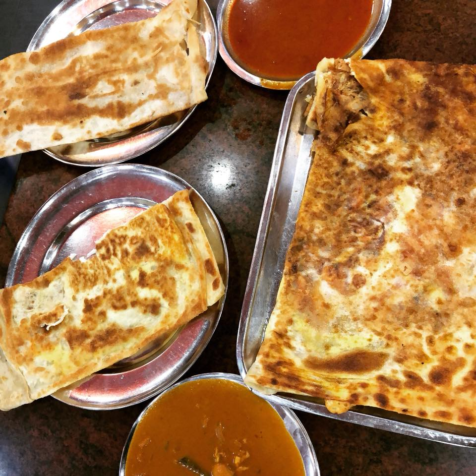 Coriander Lime Kitchen is on the road – Singapore Roti Prata